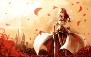 Rating: Safe Score: 81 Tags: beatrix final_fantasy final_fantasy_ix flowers mask paseri sword weapon User: sxxiaoou