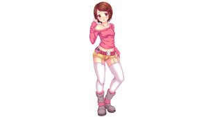 Rating: Safe Score: 48 Tags: boots brown_eyes brown_hair digimon fast-runner-2024 garter_belt navel short_hair shorts stockings thighhighs white yagami_hikari zettai_ryouiki User: gnarf1975