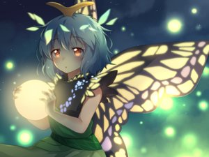 Rating: Safe Score: 27 Tags: butterfly caramell0501 cropped eternity_larva green_hair short_hair touhou wings yellow_eyes User: kyxor