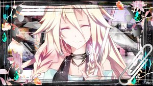 Rating: Safe Score: 125 Tags: cross crying ia necklace tears tyouya vocaloid User: MissBMoon