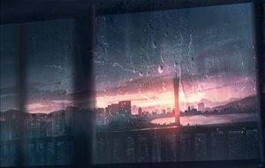 Rating: Safe Score: 63 Tags: building city clouds original polychromatic rain scenic sky skyrick9413 sunset water User: mattiasc02