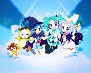 Rating: Safe Score: 59 Tags: cosplay crossover hiiragi_kagami hiiragi_tsukasa izumi_konata kusakabe_misao lucky_star takara_miyuki vocaloid User: rodri1711
