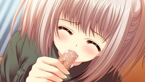 Rating: Explicit Score: 24 Tags: censored close cum fellatio game_cg gray_hair kona_nako nishimata_aoi penis sekai_seifuku_kanojo User: oranganeh