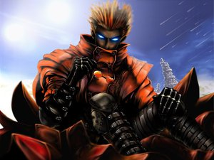 Rating: Safe Score: 43 Tags: all_male male trigun vash_the_stampede User: Aosthi