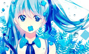 Rating: Safe Score: 51 Tags: achiki blue_eyes blue_hair close hatsune_miku twintails vocaloid User: opai