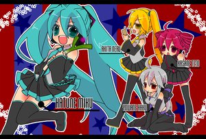 Rating: Safe Score: 30 Tags: akita_neru hatsune_miku kasane_teto utau vocaloid yowane_haku User: HawthorneKitty