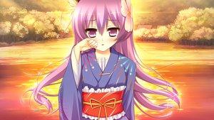 Rating: Safe Score: 44 Tags: arikawa_satoru game_cg japanese_clothes kamigakari_cross_heart! shiosaki_hijiri windmill_(company) User: Maboroshi