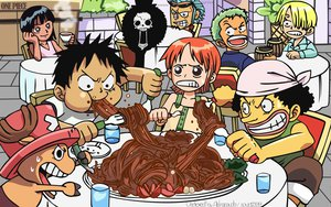 Rating: Safe Score: 35 Tags: brook drink food franky group monkey_d_luffy nami nico_robin one_piece roronoa_zoro sanji signed tony_tony_chopper usopp User: shadow9998