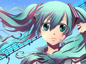 Rating: Safe Score: 48 Tags: aqua_eyes aqua_hair blue close hatsune_miku long_hair twintails vocaloid User: HawthorneKitty