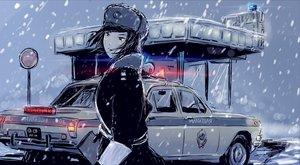 Rating: Safe Score: 70 Tags: car hat original police snow uniform User: KOCT9_CbIPKOB
