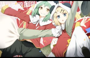 Rating: Safe Score: 75 Tags: 0000_(byoubyou) gumi kagamine_rin vocaloid User: FormX