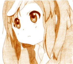 Rating: Safe Score: 8 Tags: godees hirasawa_yui k-on! monochrome school_uniform User: SciFi