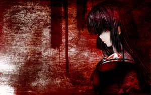 Rating: Questionable Score: 53 Tags: black_hair blood enma_ai jigoku_shoujo long_hair polychromatic red_eyes User: Oyashiro-sama