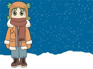 Rating: Safe Score: 4 Tags: azuma_kiyohiko koiwai_yotsuba vector winter yotsubato! User: Oyashiro-sama