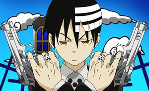 Rating: Safe Score: 20 Tags: death_the_kid gun soul_eater vector weapon User: C22
