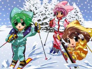 Rating: Safe Score: 3 Tags: dejiko di_gi_charat duplicate puchiko sport usada_hikaru winter User: Oyashiro-sama