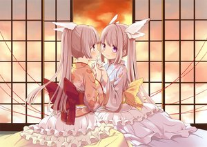 Rating: Safe Score: 51 Tags: 2girls japanese_clothes kimono lolita_fashion original scan ume_aoki User: mattiasc02