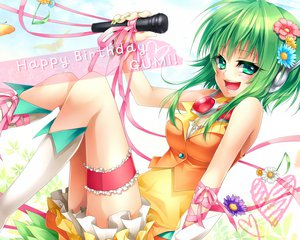Rating: Safe Score: 61 Tags: gumi microphone ribbons ueno_tsuki vocaloid User: FormX