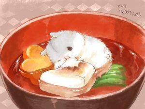 Rating: Safe Score: 51 Tags: animal food nobody original yutaka_kana User: otaku_emmy