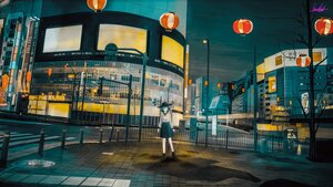 Rating: Safe Score: 23 Tags: banishment building city night original scenic signed User: FormX