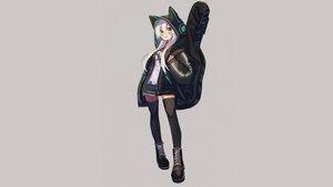 Rating: Safe Score: 32 Tags: animal_ears boots daifukumochi_(akaaokiiwo) guitar hoodie instrument kanade_kanon kanade_kanon_official long_hair thighhighs third-party_edit white_hair yellow_eyes zettai_ryouiki User: mattiasc02