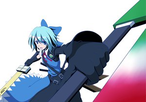 Rating: Safe Score: 25 Tags: advent_cirno cirno keroro_gunsou sergeant_keroro touhou User: korokun