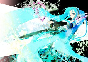 Rating: Safe Score: 29 Tags: blue_hair hatsune_miku twintails vocaloid User: Niku