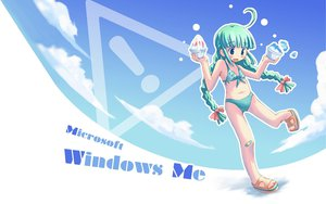 Rating: Safe Score: 41 Tags: anthropomorphism bandaid bikini jpeg_artifacts loli me os-tan swimsuit windows User: Mikuro