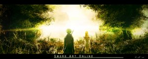 Rating: Safe Score: 134 Tags: black_hair kirigaya_kazuto landscape renevatia scenic sword sword_art_online tree weapon yuuki_asuna User: C4R10Z123GT