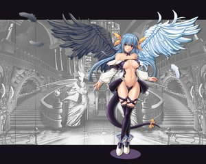 Rating: Questionable Score: 244 Tags: cleavage dizzy guilty_gear only_haruka tagme tail wings User: opai