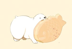 Rating: Safe Score: 16 Tags: animal bear brown cat_smile chai_(artist) food nobody original polychromatic signed taiyaki User: otaku_emmy
