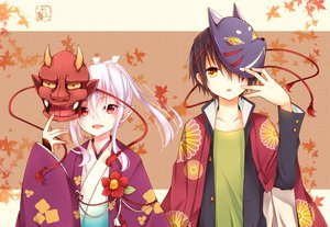 Rating: Safe Score: 125 Tags: all_male goma_(11zihisin) male original pointed_ears trap User: Shinigami-Seed