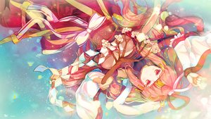 Rating: Safe Score: 94 Tags: chiyome_(p&d) heco_(mama) japanese_clothes miko puzzle_&_dragons User: FormX