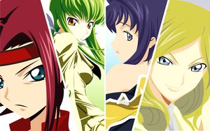 Rating: Safe Score: 15 Tags: cc cecile_croomy code_geass kallen_stadtfeld millay_ashford User: rargy