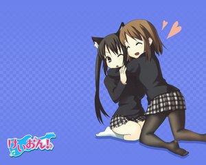 Rating: Safe Score: 43 Tags: animal_ears catgirl hirasawa_yui hug k-on! nakano_azusa User: HawthorneKitty
