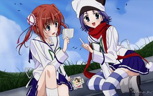 Rating: Safe Score: 19 Tags: 2girls amakase_minatsu asakura_yume da_capo da_capo_ii User: Maboroshi