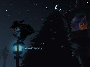 Rating: Safe Score: 54 Tags: christmas dark honchkrow mel-el-em moon night pokemon rotom sableye stars tree User: SonicBlue