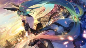 Rating: Safe Score: 57 Tags: forever_7th_capital hatsune_miku long_hair twintails verus vocaloid User: luckyluna