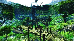 Rating: Safe Score: 153 Tags: 3d boat bubbles grass landscape original scenic sky tree underwater water y-k User: STORM