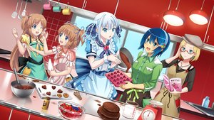 Rating: Safe Score: 43 Tags: apron aqua_eyes blonde_hair blue_hair book brown_hair chocolate claudia_madobe food fruit glasses green_eyes group hat headband long_hair madobe_ai madobe_nanami madobe_touko madobe_yuu maid microsoft os-tan ponytail short_hair strawberry tagme_(artist) twins twintails valentine white_hair windows User: gnarf1975