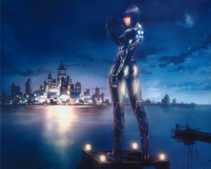Rating: Safe Score: 11 Tags: ghost_in_the_shell gun kusanagi_motoko weapon User: Oyashiro-sama