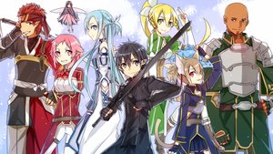 Rating: Safe Score: 35 Tags: andrew_gilbert_mills animal_ears aqua_hair armor ayano_keiko black_eyes black_hair blonde_hair breasts gloves green_eyes group jianmo_sl kirigaya_kazuto kirigaya_suguha leafa lisbeth long_hair male pink_eyes pink_hair pointed_ears ponytail red_eyes red_hair shinozaki_rika short_hair sword sword_art_online tail tsuboi_ryoutarou weapon yui_(sword_art_online) yuuki_asuna User: RyuZU