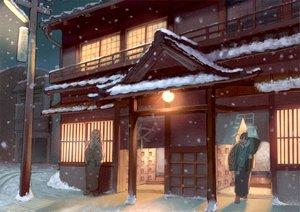 Rating: Safe Score: 39 Tags: batako japanese_clothes kimono snow winter User: c86