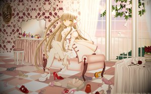 Rating: Safe Score: 59 Tags: blonde_hair chii chobits long_hair yellow_eyes User: gnarf1975