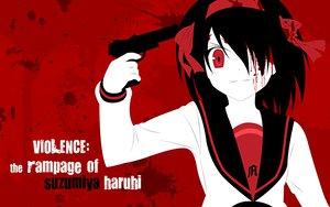 Rating: Safe Score: 17 Tags: gun seifuku suzumiya_haruhi suzumiya_haruhi_no_yuutsu weapon zono_(rinkara-sou) User: Oyashiro-sama