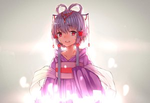 Rating: Safe Score: 68 Tags: chinese_clothes crying gray_hair hei_yan-m82a1 jpeg_artifacts long_hair luo_tianyi red_eyes tears twintails vocaloid vsinger User: FormX