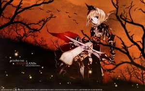 Rating: Safe Score: 6 Tags: armor blonde_hair blue_eyes sumi_keiichi sword tagme weapon User: Oyashiro-sama
