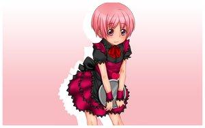 Rating: Safe Score: 16 Tags: bow pink_eyes pink_hair short_hair to_aru_majutsu_no_index tsukuyomi_komoe User: 秀悟