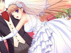 Rating: Safe Score: 53 Tags: game_cg komori_kei male mizuno_takahiro noel_marres_ascot ricotta walkure_romanze wedding wedding_attire User: Maboroshi