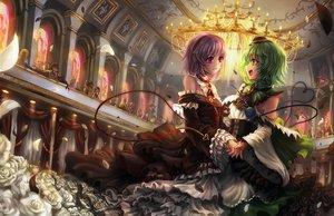 Rating: Safe Score: 187 Tags: 2girls alice_margatroid animal cat chen cirno dress fairy flandre_scarlet flowers freeze-ex green_hair hakurei_reimu hat headband hijiri_byakuren hong_meiling hoshiguma_yuugi inubashiri_momiji izayoi_sakuya japanese_clothes kaenbyou_rin kirisame_marisa kochiya_sanae komeiji_koishi komeiji_satori konpaku_youmu kumoi_ichirin miko mima moriya_suwako multiple_tails nazrin patchouli_knowledge petals pink_hair reiuji_utsuho remilia_scarlet rose rumia saigyouji_yuyuko shameimaru_aya shinki short_hair tail toramaru_shou touhou toyosatomimi_no_miko vampire witch wolfgirl yakumo_ran yakumo_yukari yasaka_kanako User: Flandre93